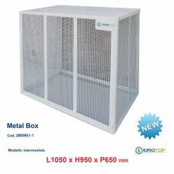 Gabbie di protezione INTERMEDIATE 1050x950x650 mm Metal Box per Climatizzatori Unità Esterna