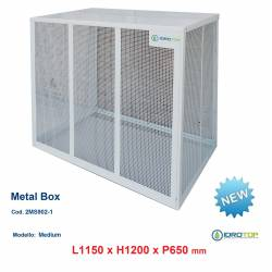 Gabbie di protezione MEDIUM 1150x1200x650 mm Metal Box per Climatizzatori Unità Esterna