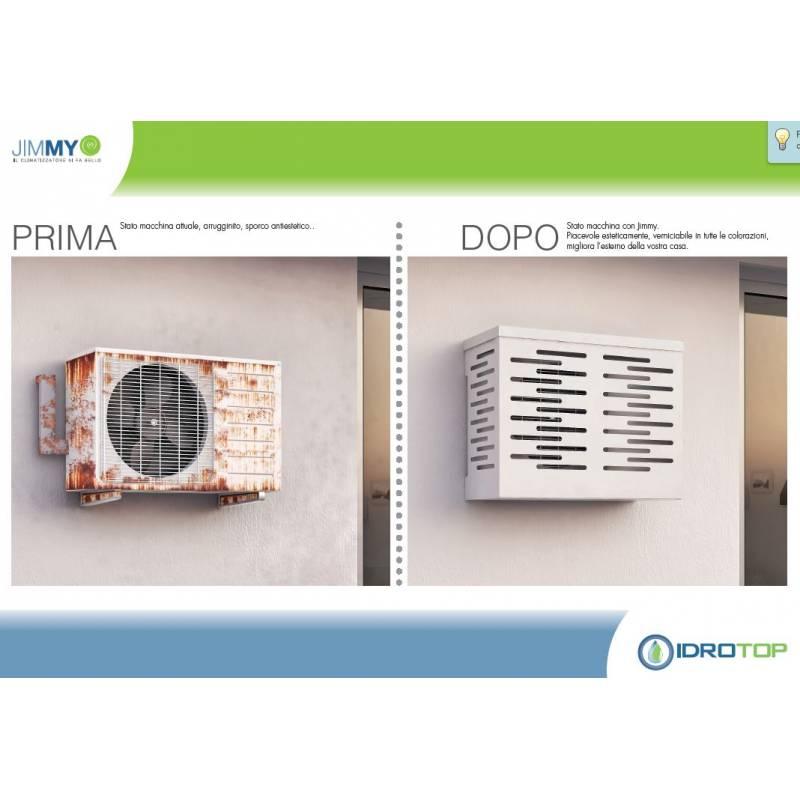 Copri climatizzatore condizionatore per unit esterna for Copri caldaia esterna alluminio