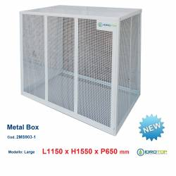 Gabbie di protezione LARGE 1150x1550x650 mm Metal Box per Climatizzatori Unità Esterna