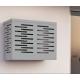 Copri Climatizzatore/Condizionatore Grigio per Unità Esterna  L900xH700xP450 in Alluminio Composito