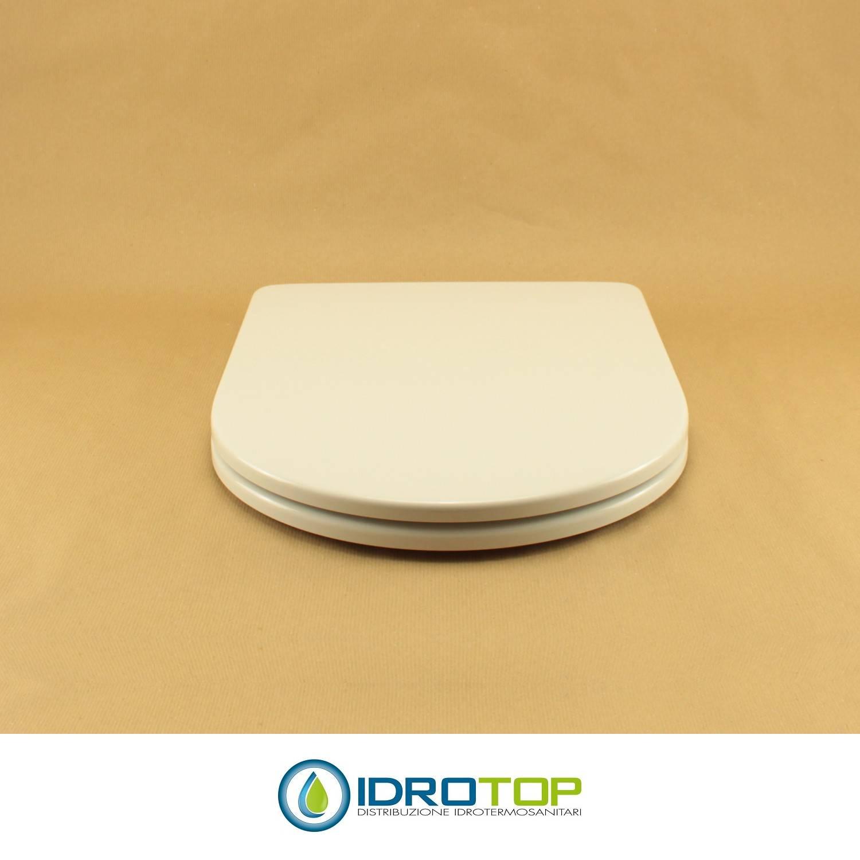 Sanitari Nero Ceramica Aliseo.Copriwater Per Nero Ceramica Genesi Termoindurente Bianco Cerniera Inox Normale O Rallentata Soft Close