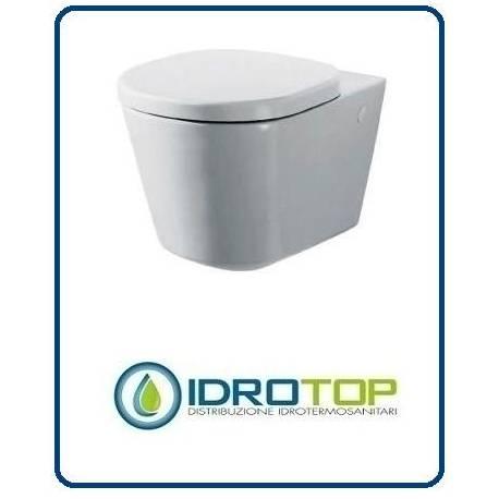 Vaso sospeso compreso di sedile serie tonic ideal standard - Vaso ideal standard serie 21 ...
