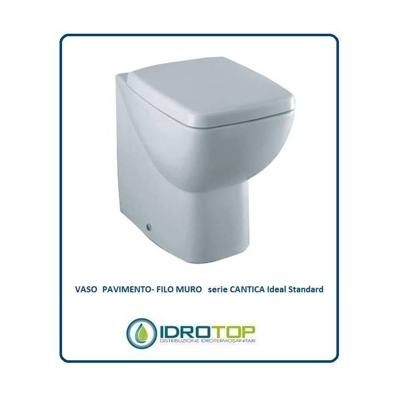 Vaso filo muro cantica compreso di sedile bianco euro - Vaso ideal standard serie 21 ...
