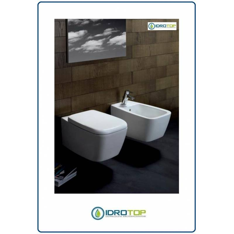 Bidet sospeso modello 21 step ideal standard colore bianco for Ideal standard liuto bidet