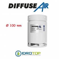 DiffuseAir Ø100 Diffusore per Ventilazione e Coltivazioni in ambienti chiusi-Idroponica