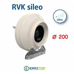 Ventilatore RVK Ø200 Centrifugo Ventilazione per DiffuseAir Ø 200 Diffusore Aria -Idroponica