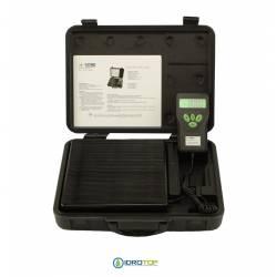 Bilancia Elettronica Lcd Portata 100 kg per Gas Refrigerante-Idrotop