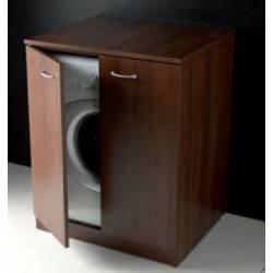 Coprilavatrice , mobile porta lavatrice per lavanderia modello Bosco