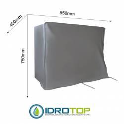 Telo Cappottina 950x750x400 mm per Condizionatore Protezione Unità Esterna