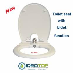 Toilete Bidet,Cold Water Bidet,Simple installation mod.320T GRY