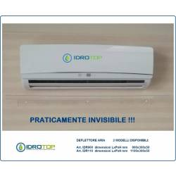 OFFERTA di N.2 DEFLETTORI aria condizionatori IDR 1100  cm 110 in plexiglass per split