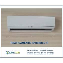 OFFERTA di N.2 DEFLETTORI aria condizionatori IDR 900 cm 90 in plexiglass per split