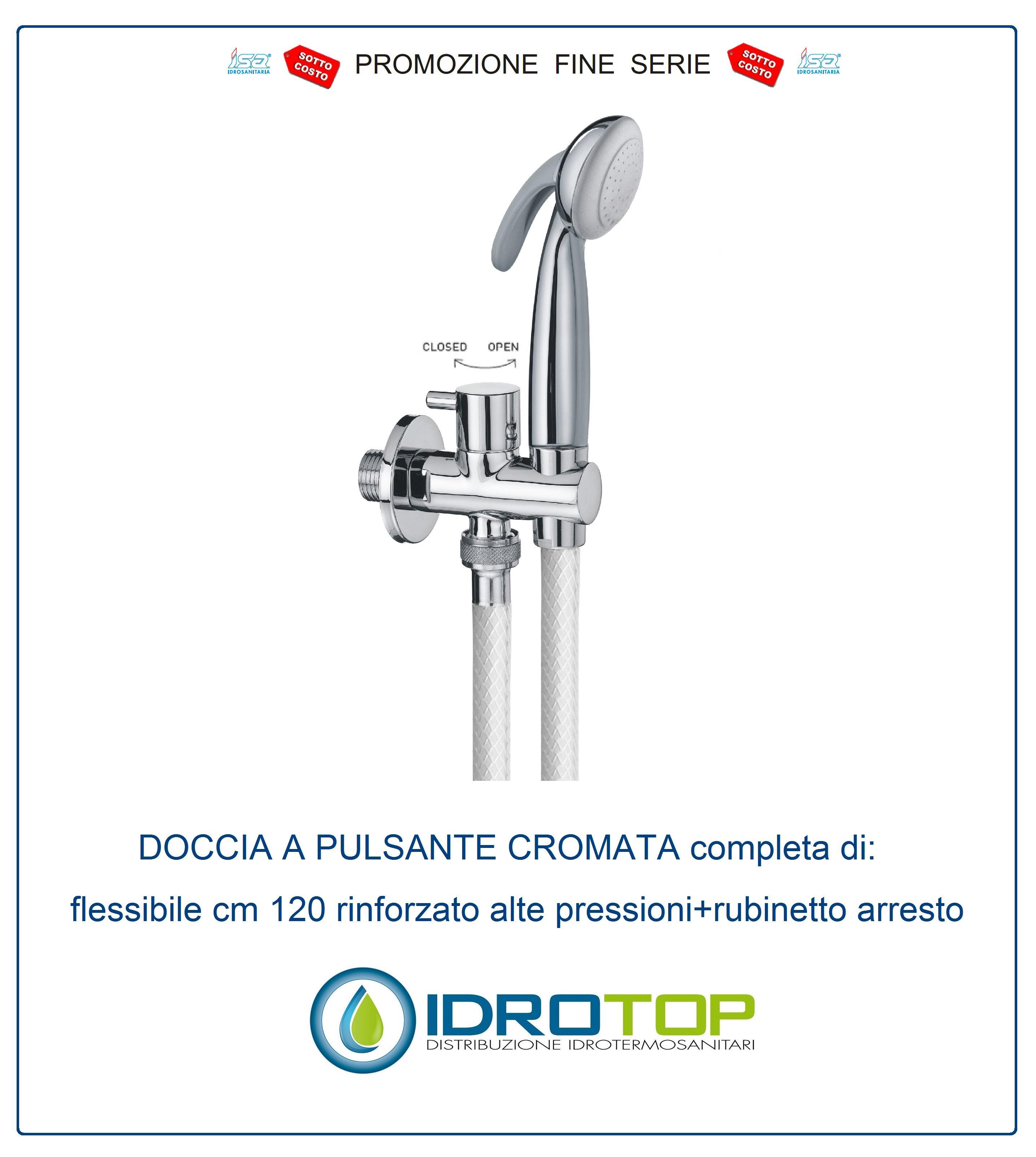 Wc Per Disabili Con Doccetta.Idroscopino Doccetta Wc Sostituisce Bidet E Scopino Igiene Bagno