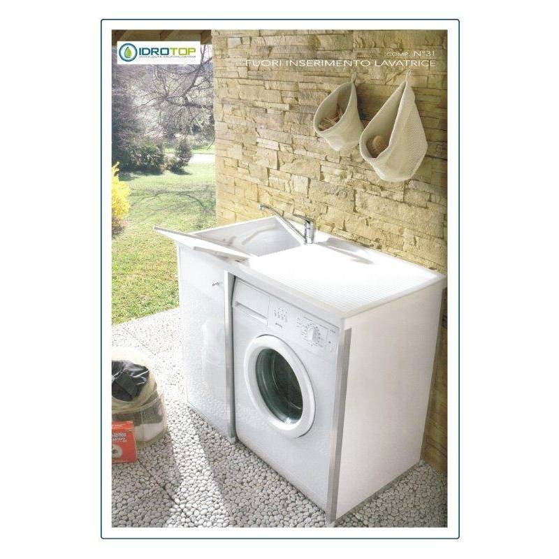 Lavatoio per esterni colajanni ideale per interni vasca in for Lavatoio esterno
