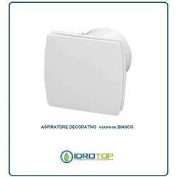 Aspiratore DECORATIVO BIANCO diametro 100mm