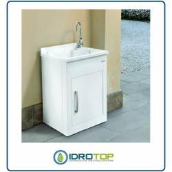 Lavatoio per Esterno STILL Montegrappa Mobile in metallo Vasca e Asse Termoplastico
