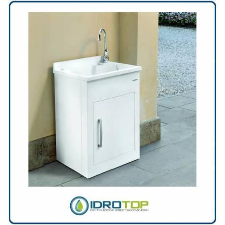 Lavatoio per esterno still montegrappa mobile in alluminio - Pilozzo esterno ...