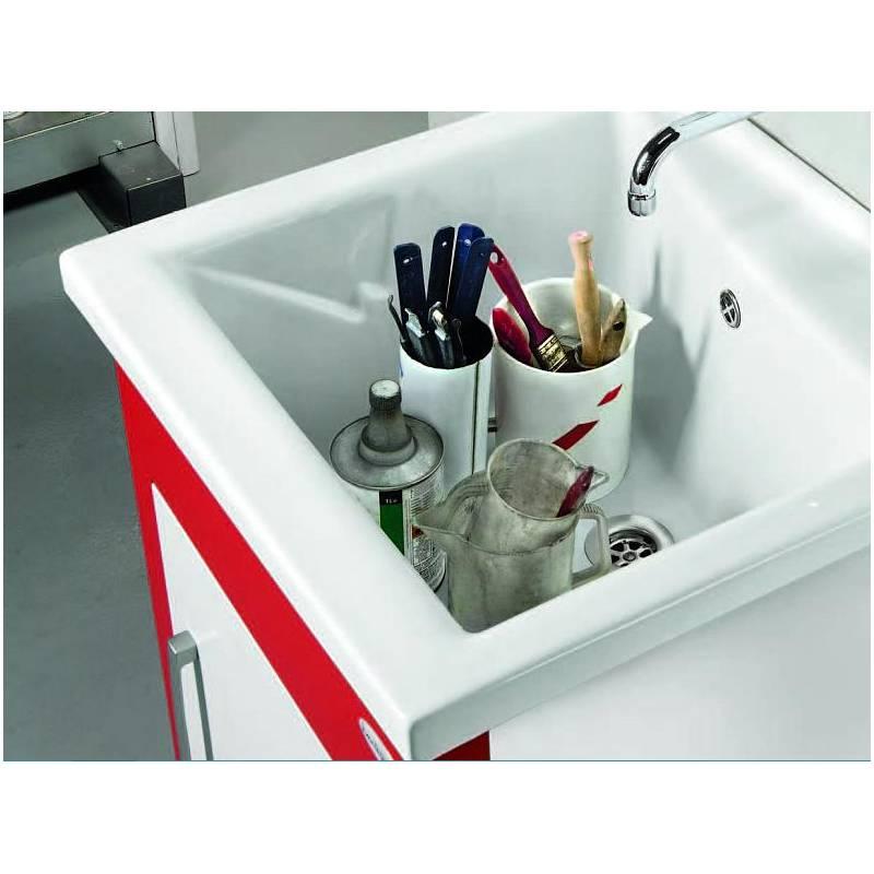Lavatoio per esterno still montegrappa mobile in alluminio vasca e ...