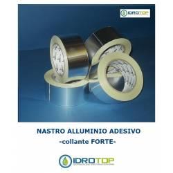 Nastro in Alluminio Adesivo Forte Rotolo da 50mt. per Ventilazione Calda e Fredda