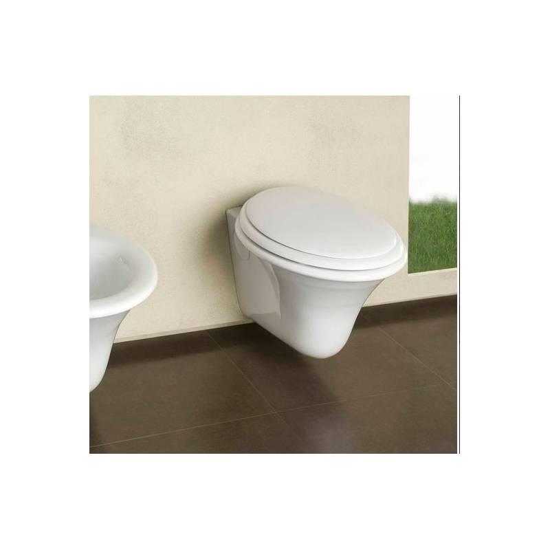 Copriwater hatria nido  sedile asse wc sgancio rapido per pulizia ...