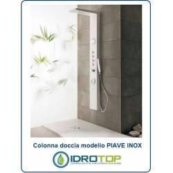 Colonna doccia PIAVE INOX Idromassaggio Multifunzione Miscelatore Termostatico