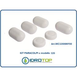 PARACOLPI DI RICAMBIO copriwater bidet x articolo 320 ORIGINALE - Idrotop