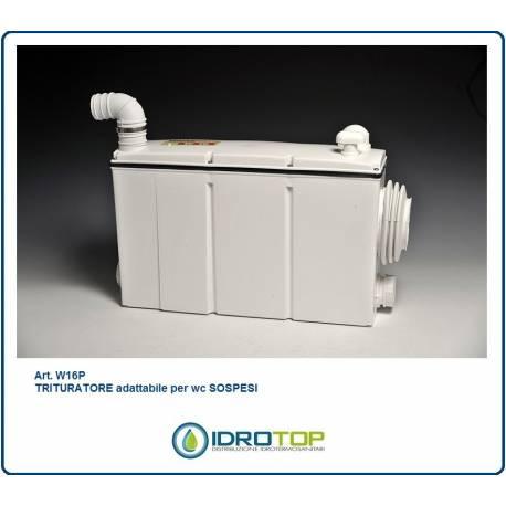 TRITURATORE  per LAVABO+ WC  sospesi art. W16 P Gruppo SANITRIT
