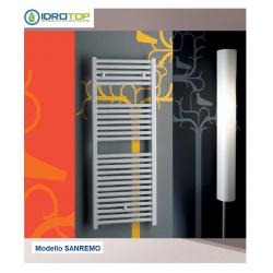 TERMOARREDO SCALDASALVIETTE H 1420X450 mod. SANREMO BIANCO DRITTO