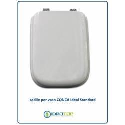 COPRIWATER SEDILE CONCA + KIT OMAGGIO bianco Euro Ideal Standard