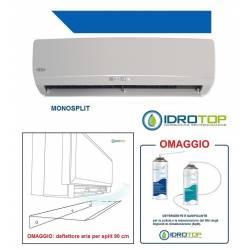 Condizionatore Monosplit inverter 9000 btu/h pompa di calore+deflettore 90cm