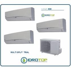 Climatizzatore trial multisplit 9+9+9 inverter pompa di calore-Condizionatore-Deumidificatore