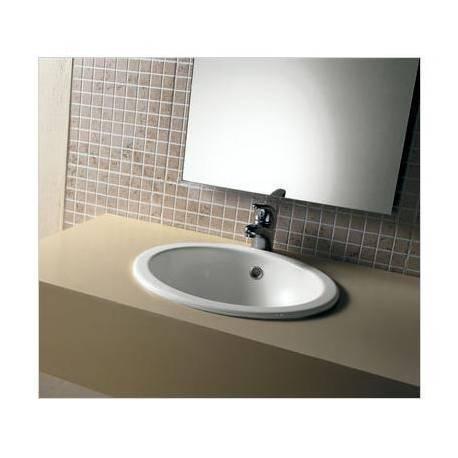 Lavabi A Incasso Dimensioni.Lavabo Incasso Mod Boule Ceramica Dimensioni 420x420 Hatria