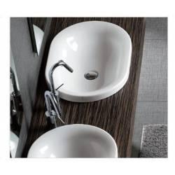 Lavabi A Incasso Dimensioni.Lavabo Incasso Mod Ovaline Monoforo In Ceramica Dimensioni