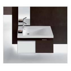 Lavabo Grandangolo G-100 in Ceramica. Possibilità di Installazione a Muro o a Parete 1000x500 Hatria