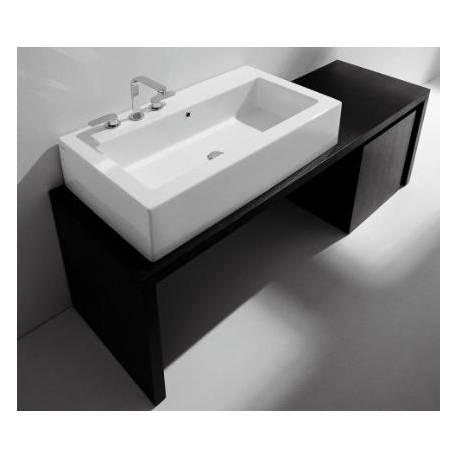 Lavabo acquagrande 101x56h20 flaminia appoggio sospeso for Flaminia lavabi