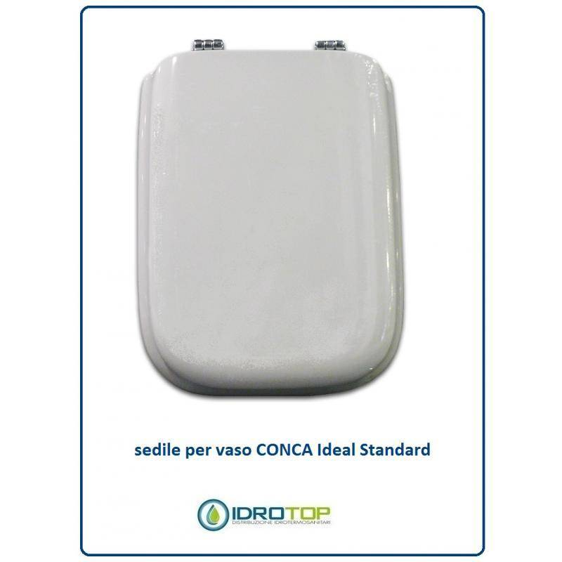 Copriwater ideal standard conca bianco i s for Copriwater ideal