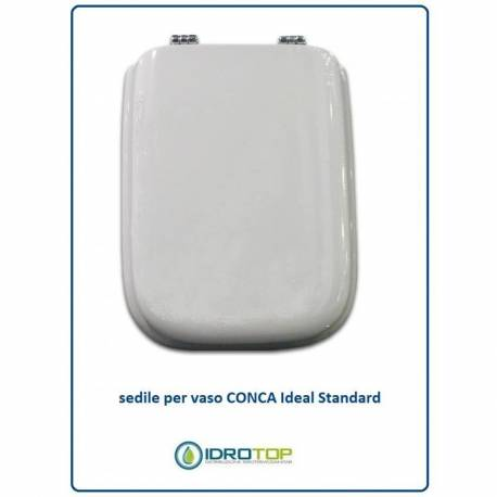Copriwater ideal standard conca bianco for Copriwater conca ideal standard