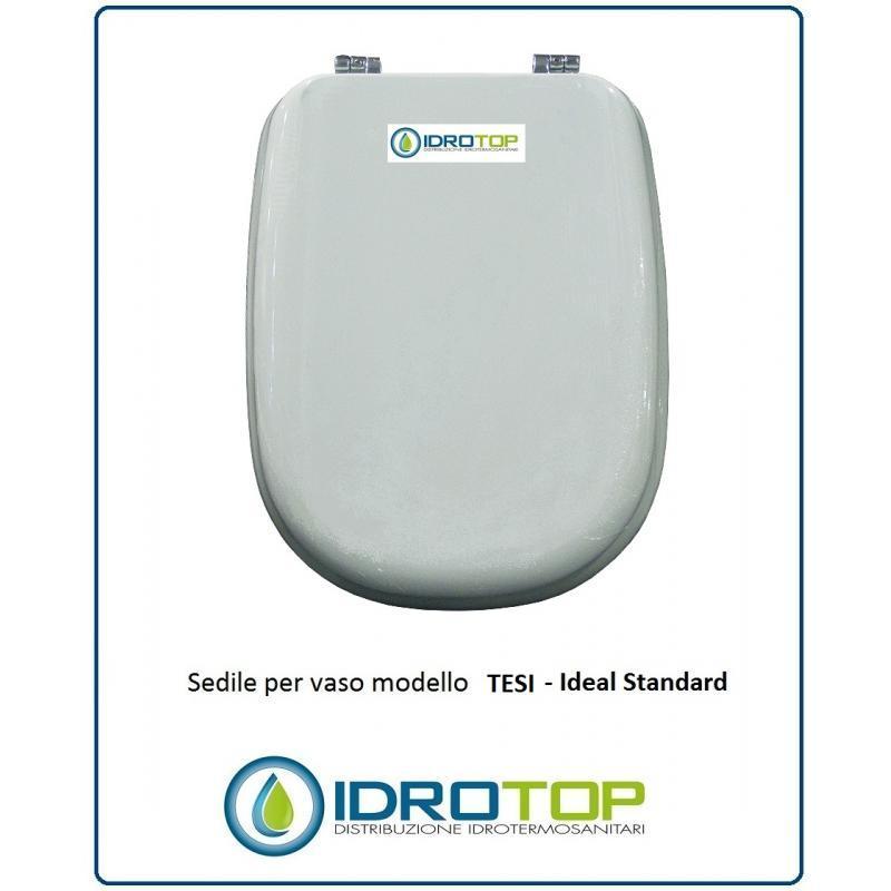 Sedile Wc Ideal Standard Serie Tesi.Copriwater Ideal Standard Tesi Bianco I S