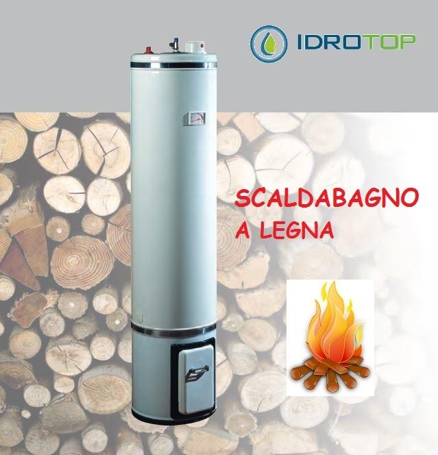 Scaldabagno a legna termo elettrico basamento litri 80 - Valvola di sicurezza scaldabagno elettrico ...