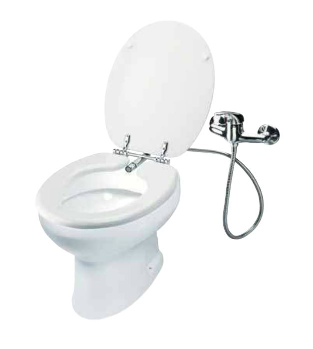 Sedile Copriwater Con Bidet Incorporato.Copriwater Bidet Vr71 Con Funzione Bidet Incorporata Senza Miscelatore
