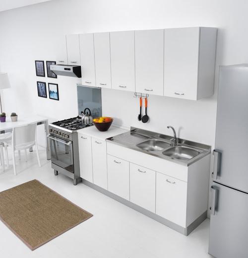 Sottolavello mobile per cucina 80 X 50 pieghevole doppia anta