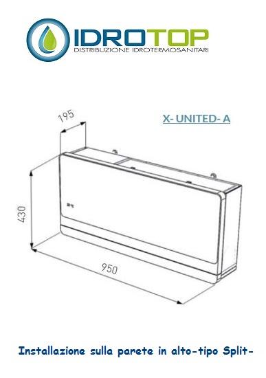 Climatizzatore Condizionatore Senza UNITAu0027 ESTERNA 8000 Btu/h   Fanair  Fantini Cosmi