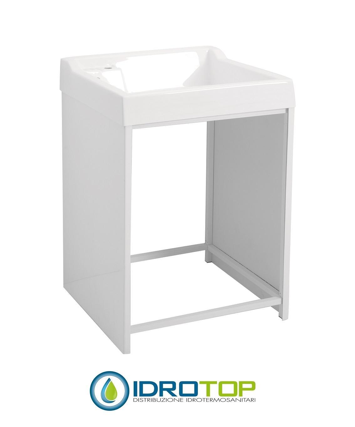 Mobile Da Esterno Per Lavatrice mobile per esterno lavacril on 72x68 portalavatrice bianco