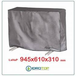 Telo Cappottina 945x610x310 mm per Condizionatore Protezione Unità Esterna