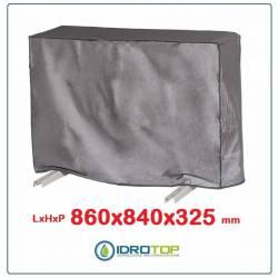 Telo Cappottina 860x840x325 mm per Condizionatore Protezione Unità Esterna