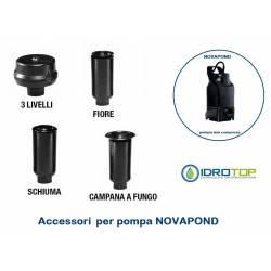 Accessori Giochi d'acqua per Pompa Novapond per Laghetti Raccordi Dab
