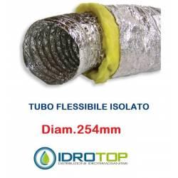 Tubo Flessibile diam. 254 in Alluminio a Doppia Parete Tubo Flex10 mt