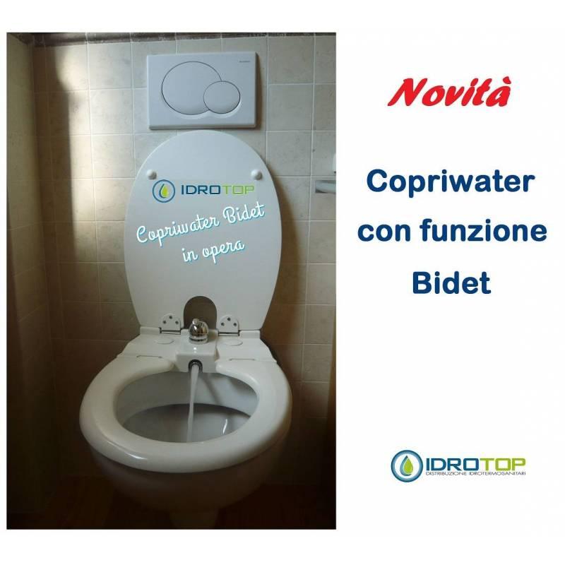 Sedile Copriwater Con Bidet Incorporato.Copriwater Con Bidet Sedile Con Funzione Bidet Incorporato Art 320tgry Ebay