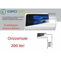 Scaldabagno Termo-Elettrico SO/T Orizzontale LT200 con Serpentino